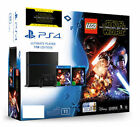 Sony PlayStation 4 500gb Console With Lego Star Wars The Force Awakens Game B