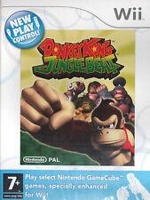 DONKEY KONG JUNGLE BEAT Nintendo WII Video Game Original UK Release New Sealed