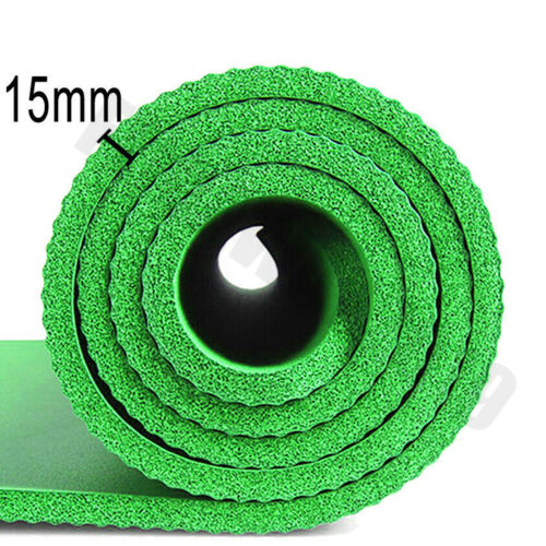 180cm Gymnastikmatte Yogamatte Bodenmatte Turnmatte Fitness Sport Camping Matte