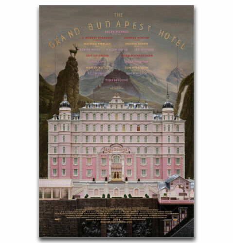 H-1515 The Grand Budapest Hotel Classic Movie Wall Silk Poster