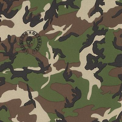 Rasch Designer Camouflage Pattern Wallpaper Military Army Metallic Motif 492477 Ebay