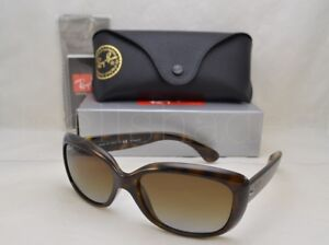 4af7a0ff8f71 Ray Ban JACKIO OHH I (RB4101-710/T5 58) Havana with Gray Grad Brown ...