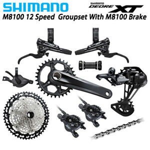 SHIMANO-Deore-XT-M8100-1x12-Speed-MTB-Groupset-32T-34T-51T-170MM-175MM