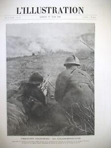 3926-WW1-FUSILIER-MITRAILLEUR-BATAILLE-L-039-AVRE-PARIS-BOMBARDe-L-039-ILLUSTRATION-1918