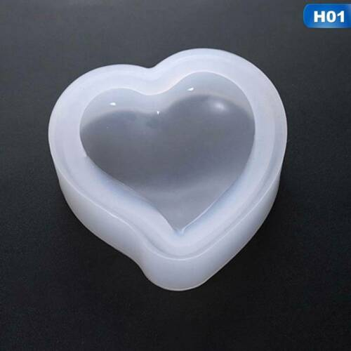 Jewelry Making Tools Heart Shaped Epoxy Mold Resin Mold Silicone Mould