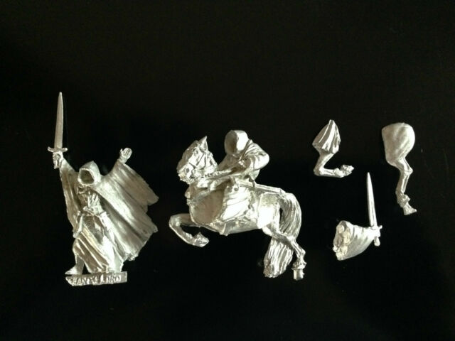 Warhammer Lord of The Rings LOTR - The Shadowlord Ringwraith Metal OOP