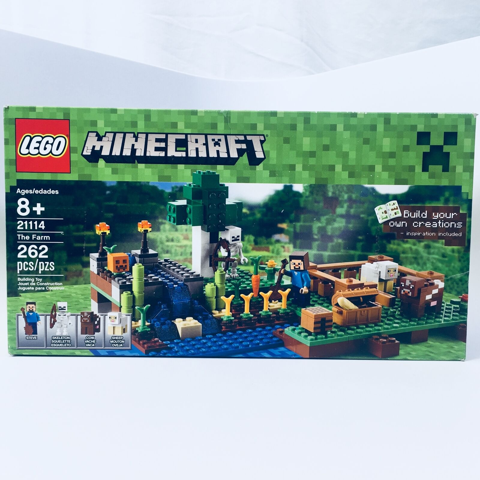 Lego Sellado Set   21114; Minecraft La granja Sellado