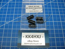 Sc Gha Series Axial Electrolytic Capacitors 50v 220uf 5 Pieces