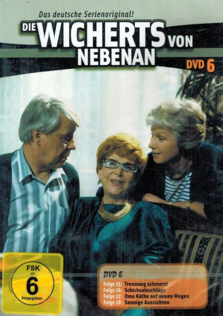 DVD NEU/OVP - Die Wicherts von nebenan - DVD 6 - Folge 15, 16, 17 und 18
