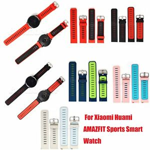 3f3eee9b39e3 Silicona Reloj Banda Sport Correa Para Xiaomi Huami Amazfit Pulsera ...
