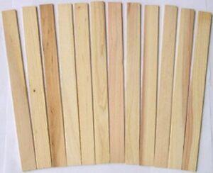 Details About 12 Economy Automotive Car Paint Stir Stick Wooden Paint Paddles 1000 1 Case