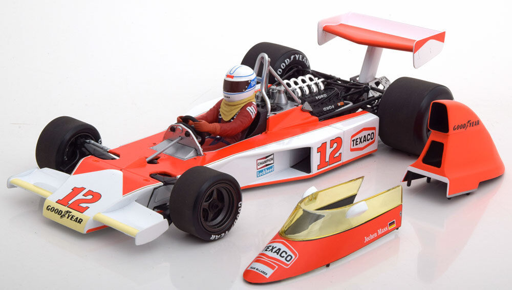Minichamps McLaren Ford Ford Ford M23 GP South Africa 1975 Mass  18 Scale New LE 300 9ce659