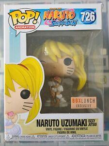 FUNKO POP VINYL FIGURE #726 SPEC NARUTO UZUMAKI NARUTO SHIPPUDEN SEXY JUTSU