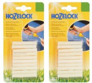 PACK OF 10 HOZELOCK 2621 CAR BRUSH SOAP SHAMPOO STICKS