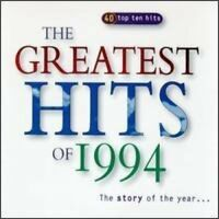 Greatest Hits of 1994-40 Top Ten Hits (UK) Dina Carroll, Take That, Kyl.. [2 CD]