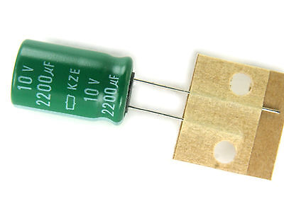 1x Capacitor Nippon KY Series 1000uF 10v 105C 10x15mm Radial US Seller