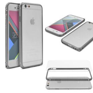 Urcover-Apple-iPhone-6-6-S-Aluminium-protection-coque-case-housse-Cover-Transparent