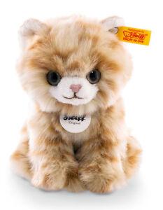 Steiff-Lizzy-Kitten-Cat-soft-cuddly-washable-plush-soft-toy-EAN-084027