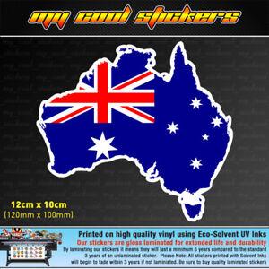 Australia-Map-Australian-Flag-Vinyl-Sticker-Decal-car-ute-window-bumper-Aussie