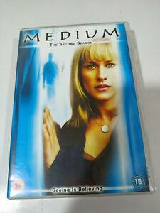 MEDIUM-THE-COMPLETE-SECOND-TEMPORADA-2-SEASON-6-X-DVD-ESPANOL-ENGLISH