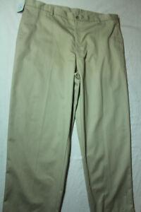 NEW-Mens-Austin-Clothing-Co-Flat-Front-Khaki-Pants-Size-44X32