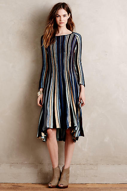 NEW ANTHROPOLOGIE  MOTH NORA SWING DRESS SZ XS EXTRA SMALL