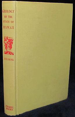 Hawaii GEOLOGY OF THE STATE OF HAWAII Stearns HC 1966 1st