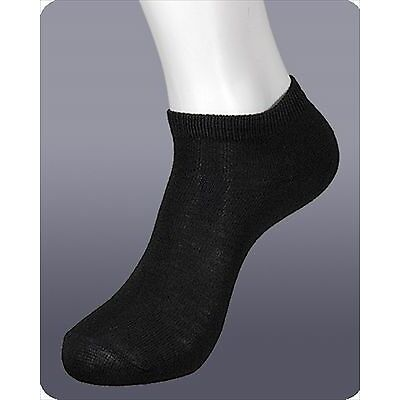 6 12 Pairs Anklet Spandex LOW CUT SOCKS Lot Men Womens PLAIN COLORS #70033A