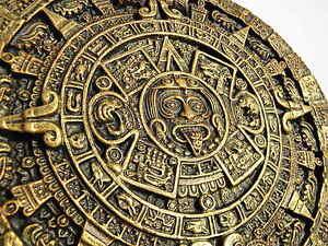 Calendario Azteca.Detalles De Calendario Azteca Pared Arte Decorativo Colgante De Pared Oro Brillante Ver Titulo Original
