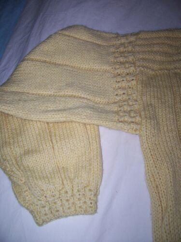 M Uld 100 Sweater Heavy Ladies Handknit Størrelse S6wpqOFAc