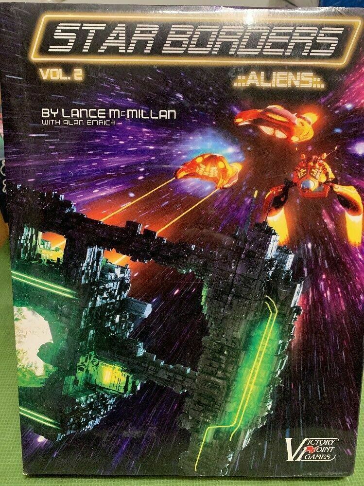 Star Borders Vol.2 Aliens Board Game - NEW SEALED
