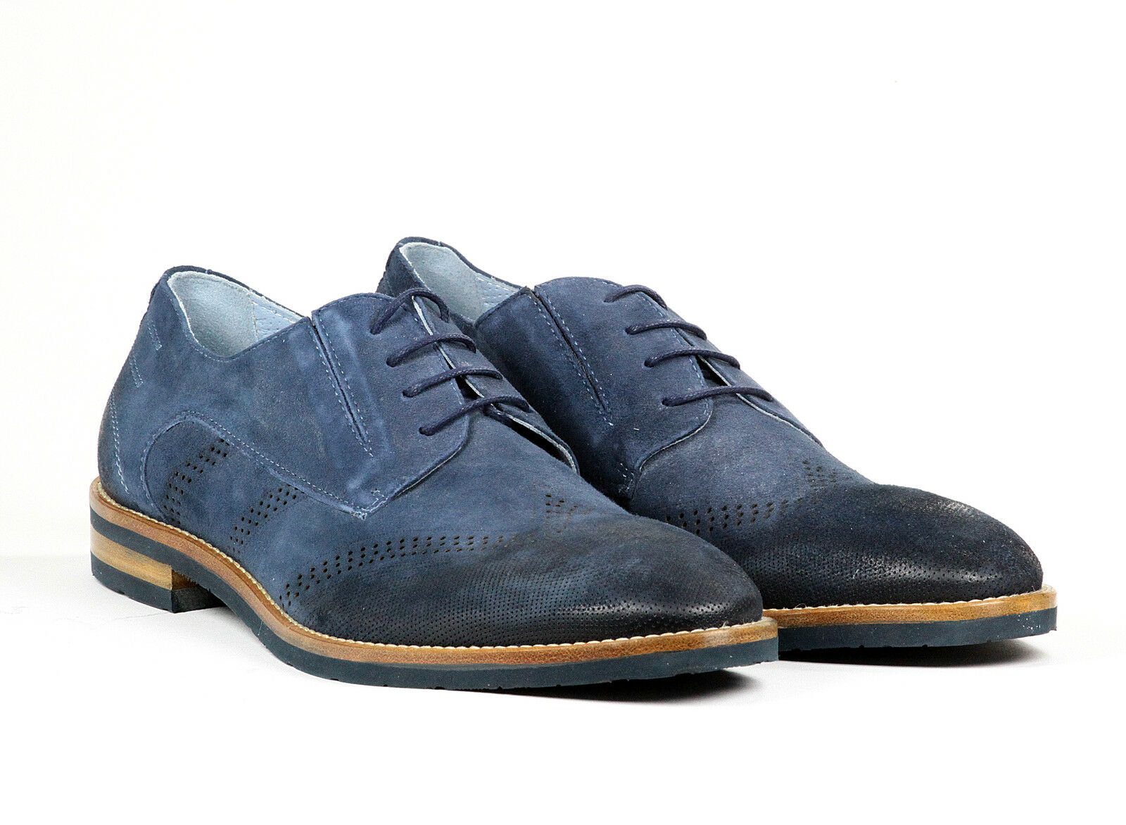 Bagatto  Pelle Italian Scarpe New Collection Blue Blue Blue bd37ab
