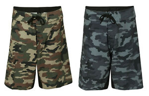 069028e5b8 Image is loading Burnside-Mens-Camo-Diamond-Dobby-Board-Shorts-Swimwear-