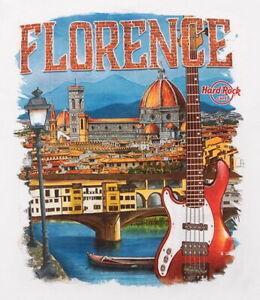 Hard-Rock-Cafe-FLORENCE-2016-City-Tee-White-T-SHIRT-2X-XXL-Men-039-s-New-w-Tags-V16
