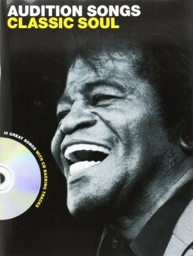 Audition Songs Classic Soul Male Voice (Book And Cd) Vce Book/Cd, Very Good Book