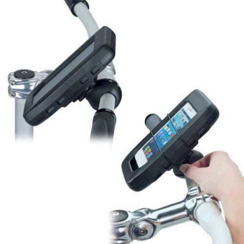 bikemount 5.1 smartphone bicicleta motocicleta e-bike soporte HR splashbox bolso L