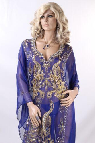 KHALEEJI DRESS BELLY DANCE ABAYA KAFTAN DRESS ABAYA jalabiya KD539
