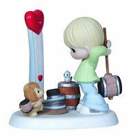 Precious Moments Our Love Is Strong Porcelain Figurine - 123006