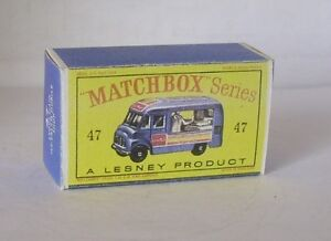 Repro Box Matchbox 1:75 Nr.47 Commer Ice Cream Canteen