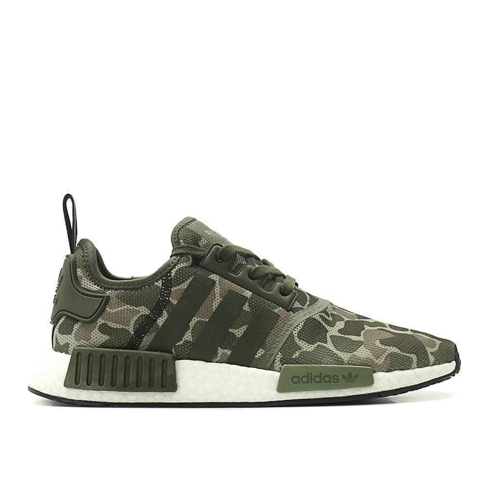 new product de02f 3c3b6 Adidas Originals Nmd R1 Boost Off Duck Camo Sesame Green Lifestyle New  D96617  eBay