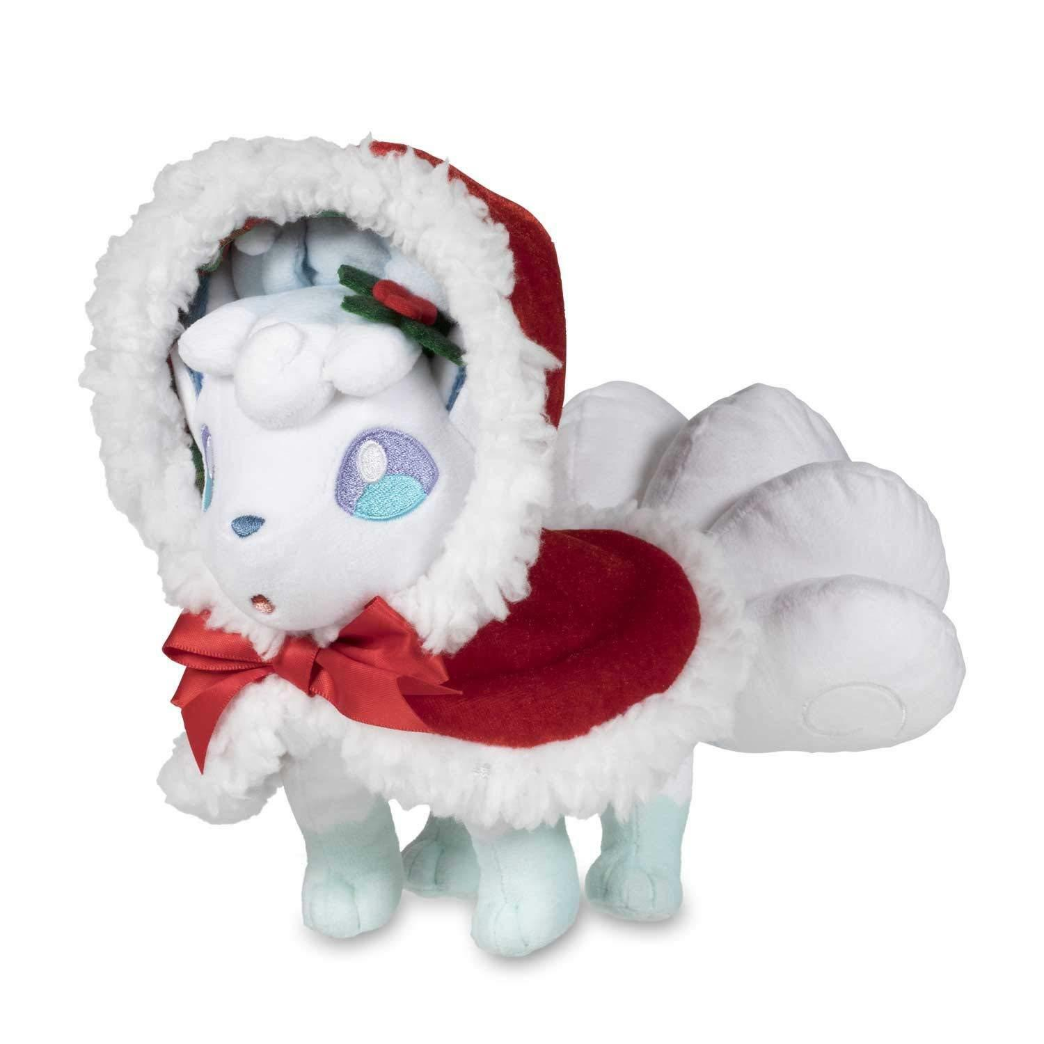 Pokemon Center Original Peluche Navidad 2017 Alola Vulpix ( Rokon )
