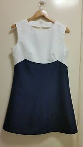 NWOT-Retro-inspired-two-tone-A-line-dress-size-12
