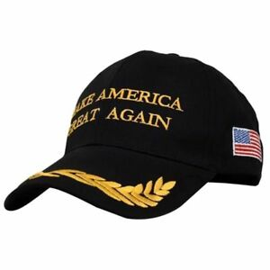 2018 Make America Great Again Hat Donald Trump Republican Adjustable Black Cap