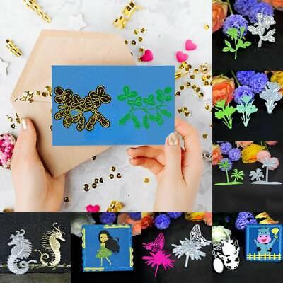 DIY Metal Cutting Dies Scrapbooking Embossing Album Paper Cards Making Craft
