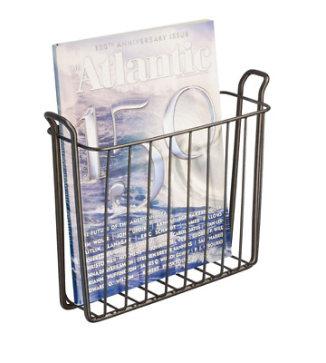 Newspaper Magazine Rack for Bathroom Book holder Metal ...