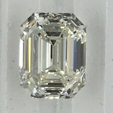 1.6 ct GIA J VVS1 natural emerald cut loose diamond solitaire engagement ring