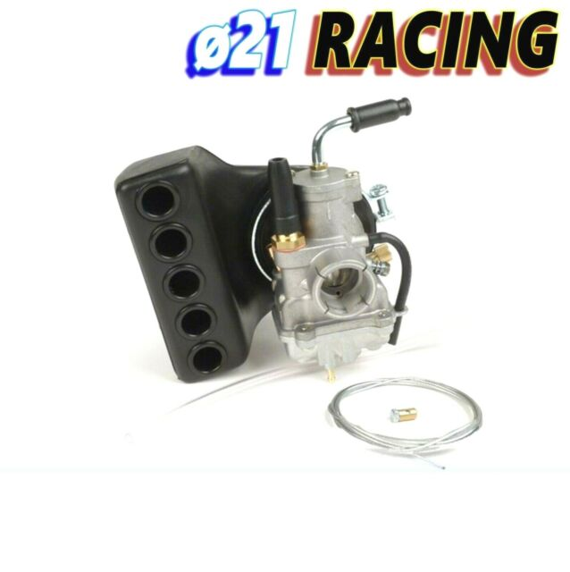 Carburettor Mount Rigid Polini CP 21 For Vespa Pk 50 S XL Rush HP N Fl > 125