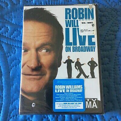 Robin Williams - Live On Broadway (DVD, 2002) Brand New ...