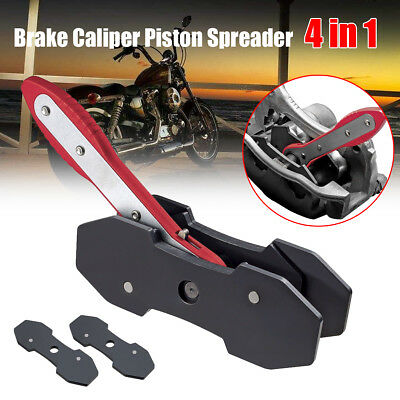4in1 Car Auto LRatchet Disc Brake Caliper Piston Spreader Press Quad Wrench Tool