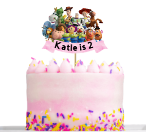 Personalised-Toy-Story-Birthday-Cake-decoration-Topper-Any-Name-And-Age